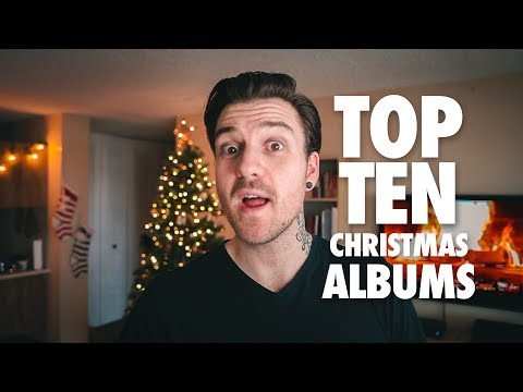 Top 10 Christmas Albums Of All Time (Spotify Playlist Included) - #DunnaVlog 44