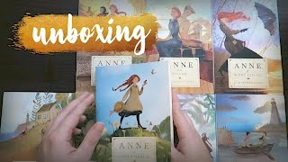 Unboxing Anne of Green Gables Series by Tundra // Vlogmas