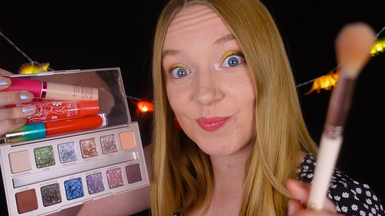 ASMR Doing Your Makeup Super Fast! (Whispered)