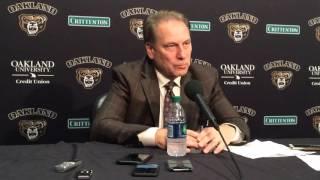 Tom Izzo recaps Michigan State