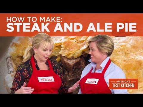 How To Make Pub-Style Steak And Ale Pie