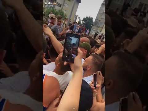 Heftige Eskalation bei Capital Bra Fantreffen in Kosovo!! | Live Aufnahmen!!