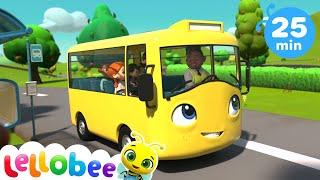 Wheels On The Bus   Moonbug Kids   Little Baby Bum   Go Buster   Morphle   Gecko