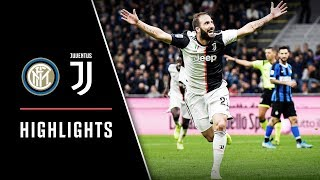 HIGHLIGHTS: Inter Milan vs Juventus - 1-2 - Dybala & Higuain decide Derby d'Italia!