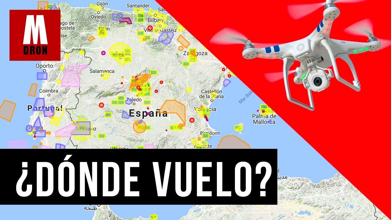 Mapa Zonas Vuelo Drones.Donde Volar Drones En Espana Guia Para Saber Donde Disfrutar Del Hobby