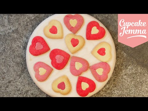 Make Valentine's Heart Cookie Recipe | Cupcake Jemma Pictures