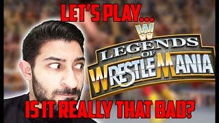 Let's Play Legends of Wrestlemania | w/Facecam | HQ 720p 60fps