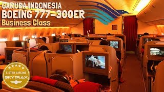 Garuda Indonesia Boeing B777-300ER | THE BEST Business Class on Domestic Flight