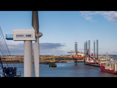 Sky is the limit thanks to Blyth Wind Turbine Training Facility