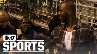 Kevin Hart Tries to Bribe Chris Paul: Don't Leave L.A.! | TMZ Sports