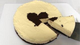 Làm Bánh CHEESECAKE Không Cần Lò Nướng | NO-BAKE CHEESECAKE Recipe | 노오븐~ 레어 치즈케이크 만들기