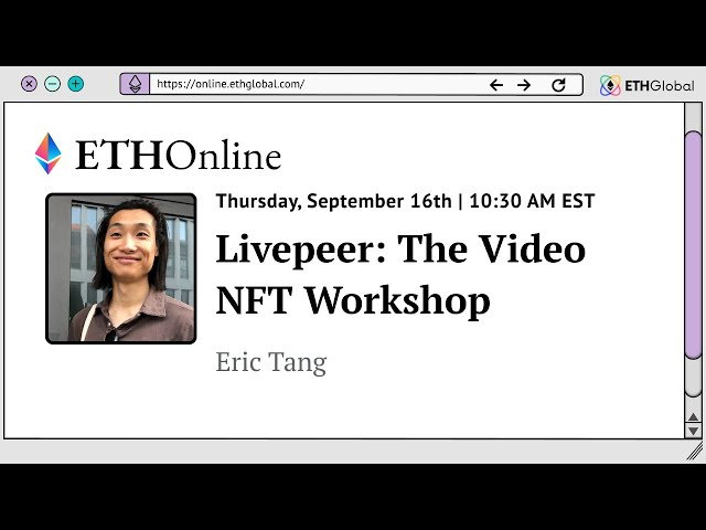 Livepeer  The Video NFT Workshop