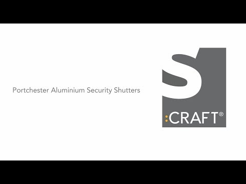 Portchester Aluminium Security Shutters