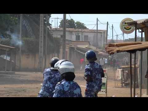 Etat de terreur au Togo: tir de gaz lacrymogènes dans les maisons à Lomé le 17 Mars 2011