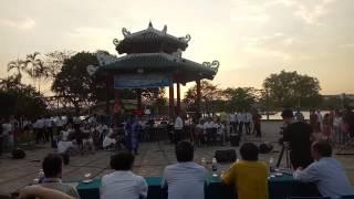 Ngược Dòng Hương Giang _ Saxophone Quốc Triêu và Sáo Trúc Huy Vương _ Học Viện Âm Nhạc Huế
