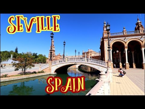 #771 Is SEVILLE SPAIN the Most Beautiful City in the World? - Jordan The Lion Travel Vlog (9/16/18)