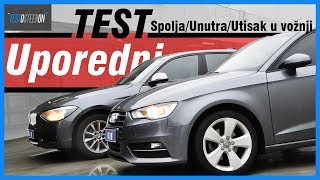 UPOREDNI TEST///Audi A3 vs BMW 1 Series