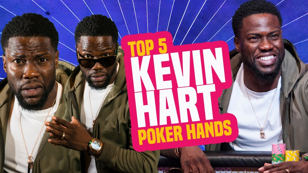 Kevin Hart Top 5 Poker Hands