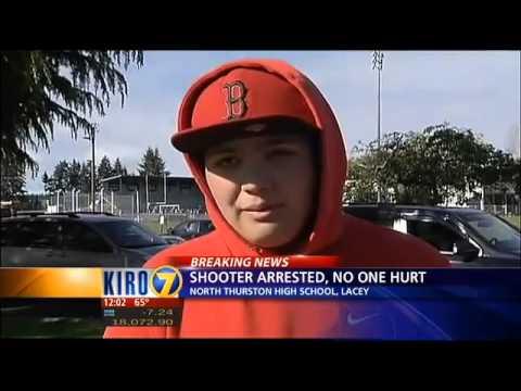 Hero teacher takes down gunman at North Thurston High School