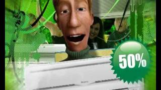 Софт сервис Кондиционер лето Губкин(Рекламный ролик кондиционеров от Софт Сервис., 2011-07-15T13:27:15.000Z)