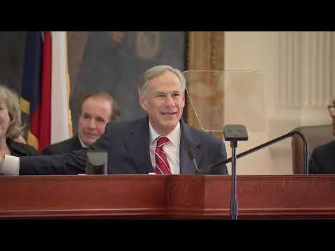 Texas Governor Abbott Gives His Annual State Of The State Address [FULL VIDEO]