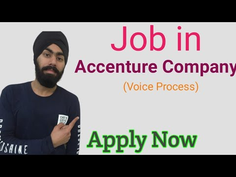 Job In Accenture - Qualification, Eligibility, Salary & How To Apply In Hindi