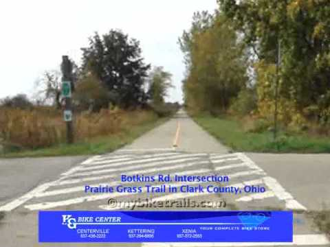 Ohio-to-Erie Trail West at 4x Speed, featuring K&G Bike Center