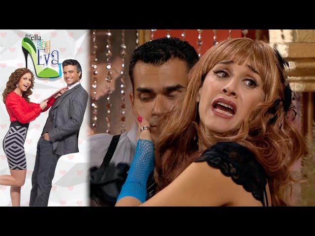 ¡La verdadera Eva es arrestada! |Por ella soy Eva |Televisa
