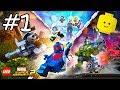LEGO Marvel Superheroes 2 Cartoon Game Videos for Kids - Superhero Video Games - Part #1