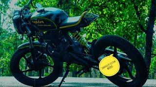 cafe racer build (pulsar 135) India.