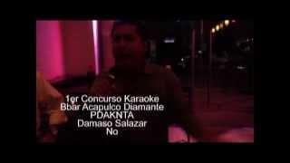 Damaso Salazar concurso karaoke Bbar PDKNTA No