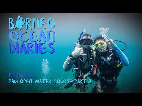 Video Of The Week | Exploring Tunku Abdul Rahman Park - PADI Open Water Course [4K] | Borneo Ocean Diaries (S01E02)|SZtv