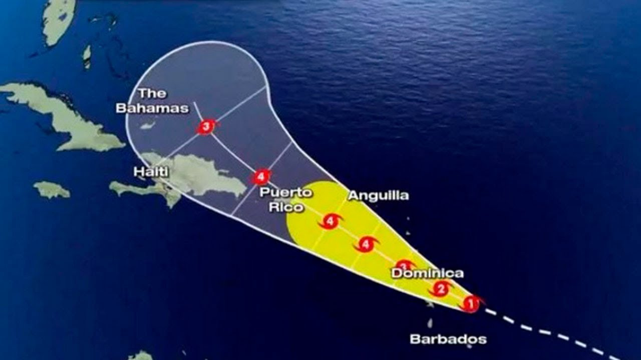 Huracan maria puerto rico trayectoria del huracan maria - Puerto rico huracan maria ...