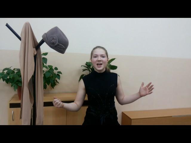 Изображение предпросмотра прочтения – ЕвгенияЗахарова читает произведение «Прощание» В.В.Маяковского