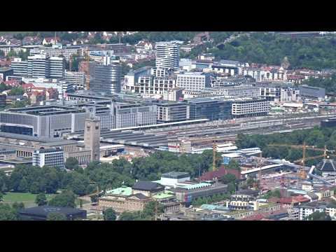 Aussicht vom Stuttgarter Fernsehturm - Stuttgart, Deutschland