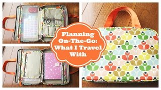 Planning On-The-Go: Planning Supplies I Travel With