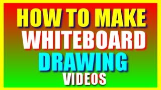 How To Make Whiteboard Drawing Video Animation | Whiteboard Drawing Software