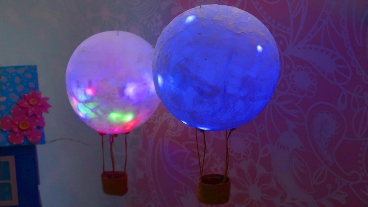 como hacer un experimento de un globo aerostatico