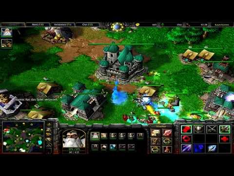 Warcraft 3 RT #037 (2v2) Human - Undead vs Human - Undead [Deutsch/German] WC 3 TFT by DPoR LP