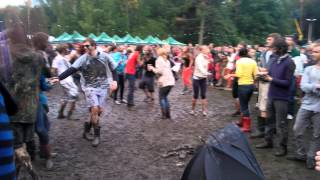 Dancing in the mud @Positivus