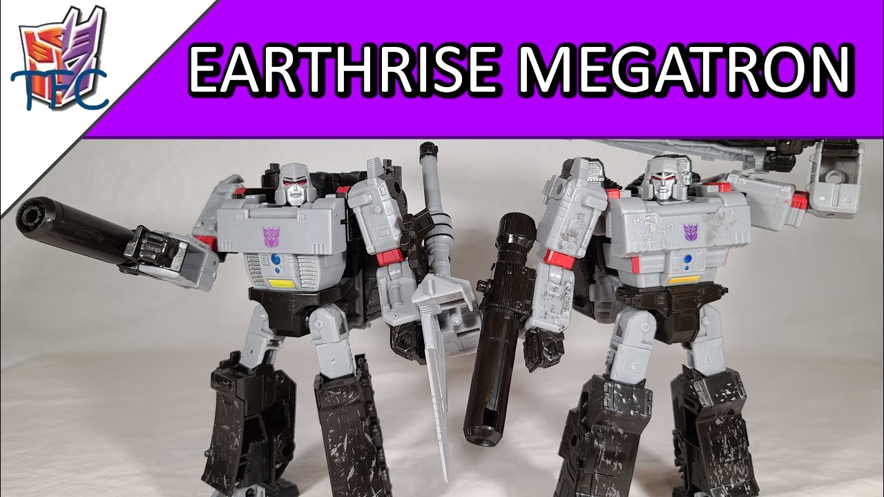 TF Collector Earthrise Megatron Review!