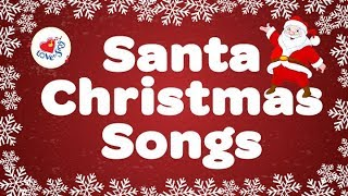 SANTA CLAUS Christmas Songs Playlist 🎅 | Children Love to Sing