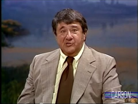 Buddy Hackett & Johnny Carson Joke Around, Part 1 on the Tonight  Starring Johnny Carson