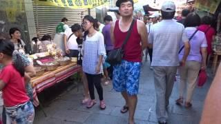 アキーラさん散策②台湾・台南・安平の古い街並み!Ampin in Tainan in Taiwan