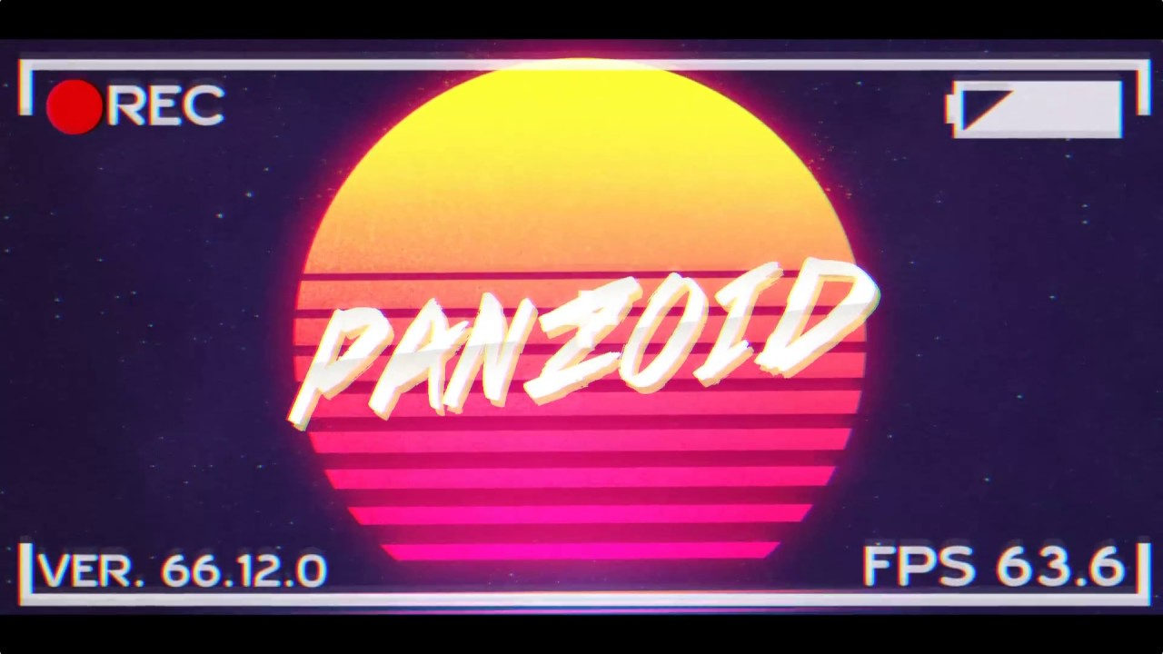 Very Nice 2D Vaporwave Intro Template | Possibly My Last   | Give Credit If  Used | Panzoid Only