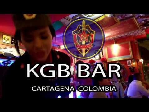 Russian KGB Bar in Cartagena Colombia - Oct 2015