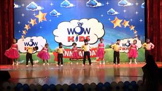 Welcome song by LKG & UKG (Wowkids Ponda Annual Day 2018)