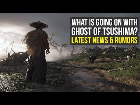 Ghost of Tsushima Release Date RUMORS & Latest News (Ghosts of Tsushima - Ghost Of Tsushima Trailer)