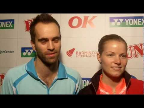 Ficher and Chris are Badminton Player of the Year 2011
