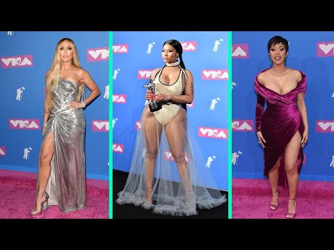 Jennifer Lopez, Cardi B, Nicki Minaj And More Stars' Must-See Fashion Moments From The VMAs